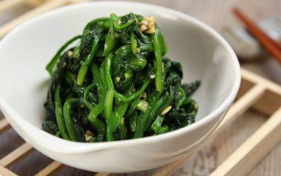韓式芝麻菠菜